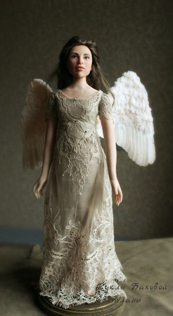 Кукла интерьерная Ангел ручной работы на заказ