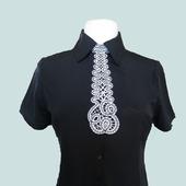 Кружевной галстук