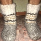 Пуховые носочки