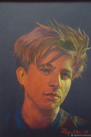Портрет Charlie Puth ручной работы на заказ