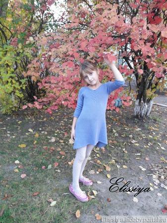 """Описание детского платья """"Fairy Tail"""" ручной работы на заказ"""