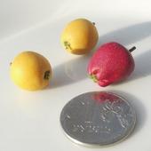 Кукольные фрукты: яблоки