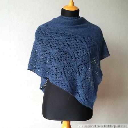 Инструкция по вязанию шали Хлоя ручной работы на заказ