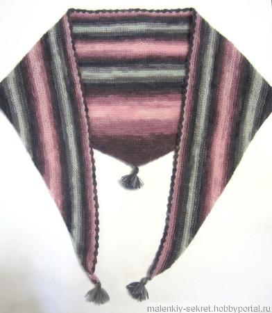 Бактус вязаный спицами ручной работы на заказ