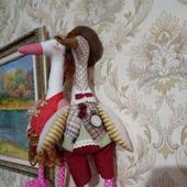 Кукла тильда-гусь