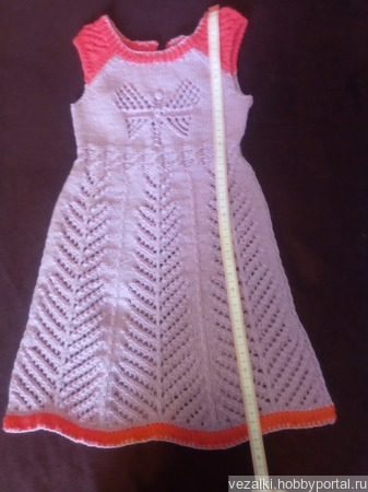 Сиреневый сарафан ручной работы на заказ