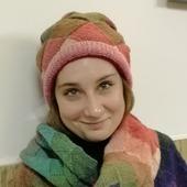 Комплект шапка и шарф-палантин