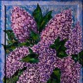 фото: Картины и панно: картины цветов (картина сирень)