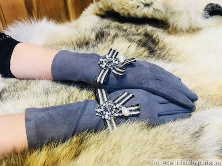"Перчатки ""Джейн Эйр"" ручной работы на заказ"