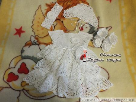 """Комплект для девочки """"Маленькая принцесса"""" ручной работы на заказ"""