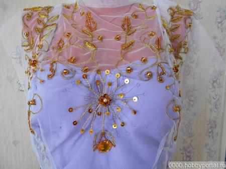 Вставка для платья ручной работы на заказ