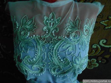 Комплект для платья ручной работы на заказ