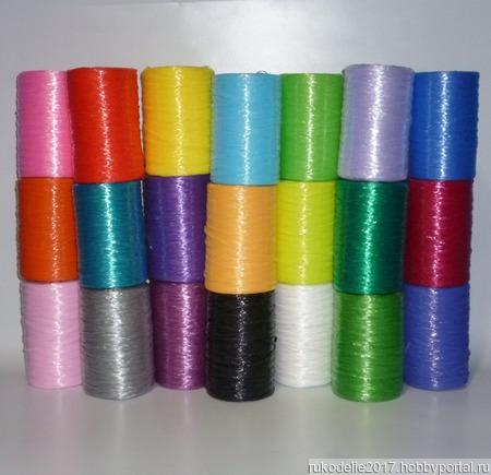 Пряжа для вязания мочалок, сумок, сувениров, ковриков ручной работы на заказ