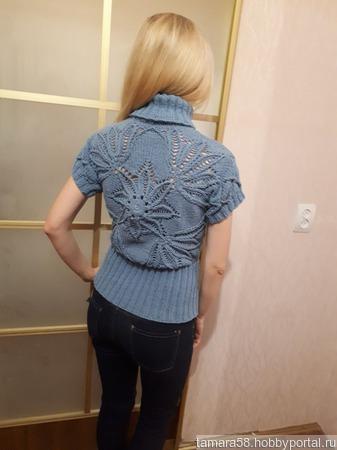 Пуловер женский ручной работы на заказ