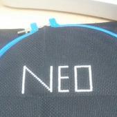 Картина вышитая крестом NEO