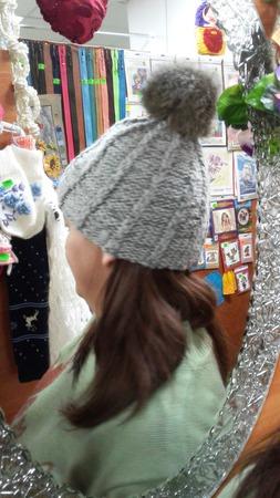Шапка вязаная ручной работы на заказ