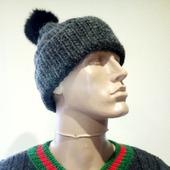 "Джемпер ""Gucci"" + шапка + снуд (в комплект)"