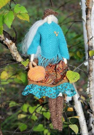 Куколка-Тильда ручной работы на заказ