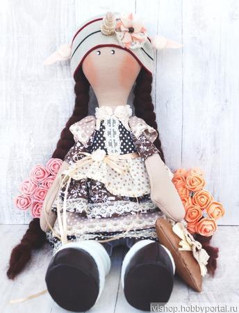 Кукла единорожка Белла ручной работы на заказ