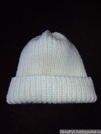 Зимняя шапка ручной работы на заказ