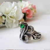 """Кольцо """"Змея"""""""
