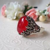 Винтажное кольцо с турмалином