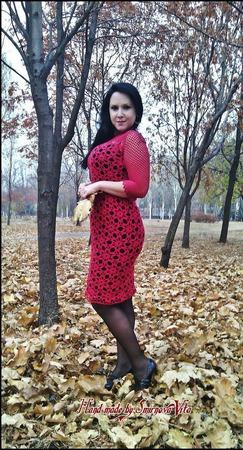 """Платье """"Элегантность-2"""" ручной работы на заказ"""