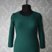 Вязаное платье из мериноса