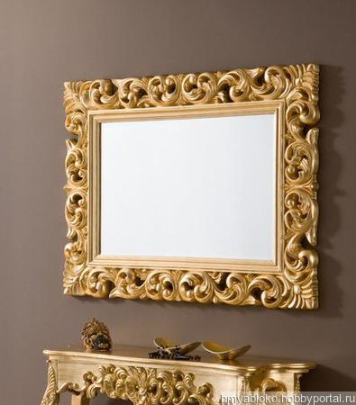 Оформление и изготовление зеркал ручной работы на заказ
