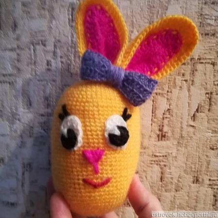 Пасхальное яйцо крючком ручной работы на заказ