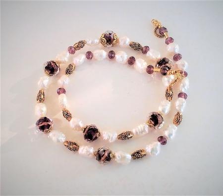 """Ожерелье """"Шарлотта"""" ручной работы на заказ"""