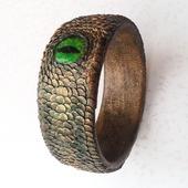 Браслет-оберег «Змеиный глаз»