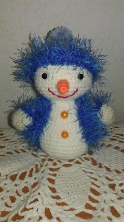 Снеговик! ручной работы на заказ