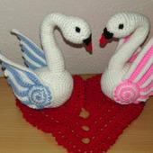 Лебеди!