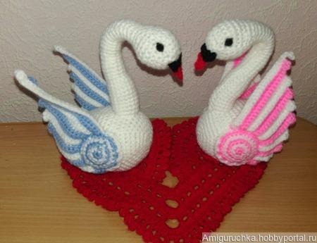 Лебеди! ручной работы на заказ