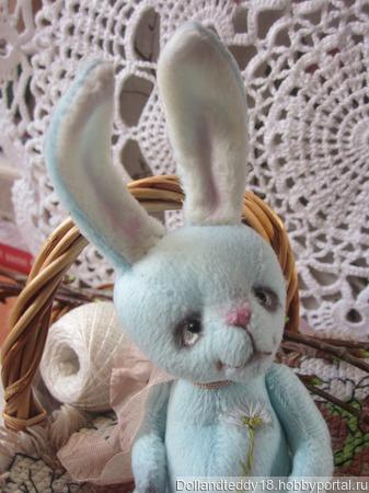 Заяц Ромашкин. ручной работы на заказ