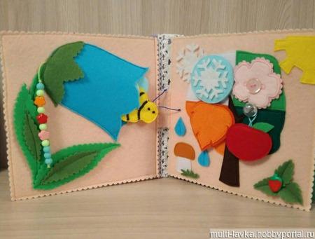 Книжка малышка 2 ручной работы на заказ