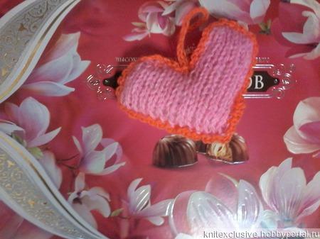Сердечко валентинка сувенир ручной работы на заказ