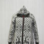 "Вязанное пальто ""Снегопад"""