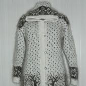 Удлиненный кардиган-пальто