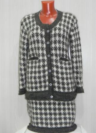 Женский классический костюм ручной работы на заказ