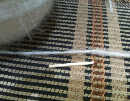 Белая пуховая пряжа от производителя. ручной работы на заказ
