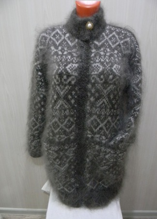 Женская кофта с карманами ручной работы на заказ