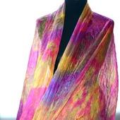 Шарф палантин шёлковый женский большой купить шарф шарф в подарок