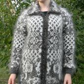 Женская кофта с оленями 2