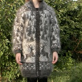 Женская кофта с оленями 1