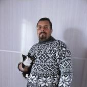 Свитер со скандинавским узором