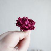 Кольцо малиновый цветок роза кольцо роза  роза купить кольцо