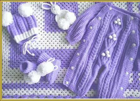 Комплект для новорожденных ручной работы на заказ
