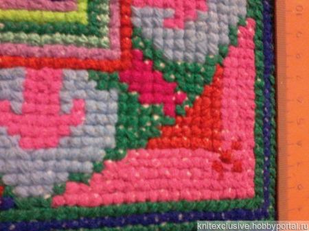 Декоративная наволочка на подушку ручной работы на заказ